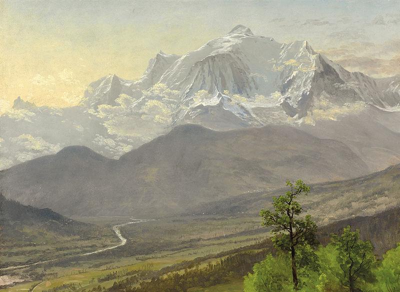 File:Albert Bierstadt - Mont Blanc.jpg