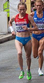 Albina Mayorova Russian long-distance runner