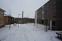 Alcuin College in Snow - geograph.org.uk - 1691889.jpg