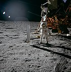 Aldrin Next to Solar Wind Experiment - GPN-2000-001211