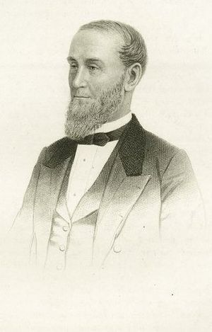 Alexander Turney Stewart - Engraving of Alexander T. Stewart