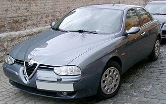 Alfa Romeo 156 - 2002 facelift version (body colour mirrors and bumper strips)