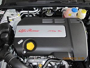 JTD engine - JTDm engine cover of Alfa Romeo 159