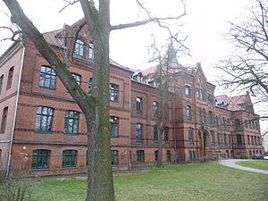 Alice-Salomon-Schule, Hauptgebäude