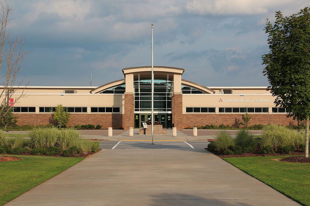 File:Allatoona High School, Cobb County, Georgia.JPG ...