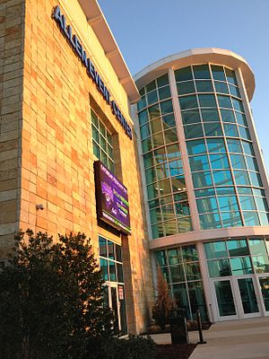Allen Event Center - The Allen Event Center on February 23, 2013, as it hosted a Professional Arena Soccer League match between the Dallas Sidekicks and the Texas Strikers.