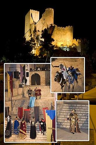 Fiestas of National Tourist Interest of Spain - Moros y Cristianos of Almansa