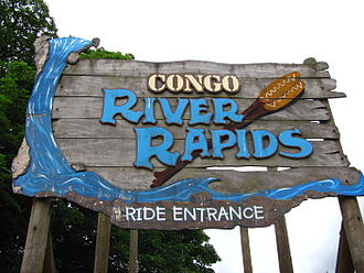 Congo River Rapids - Image: Alton Towers Congo River Rapids entrance