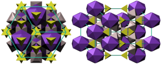 Alunite - Crystal structure of alunite