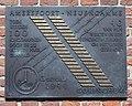 Amersfoort-Neuengamme herdenkingsplaquette inwoners Gorinchem.jpg