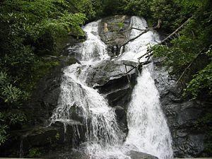 Ammons Creek Falls - Image: Ammon Falls
