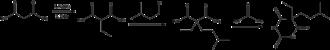 Amobarbital - Image: Amobarbital synthesis