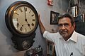 Amrit Gangar With Seth Thomas Grandfather Clock - 7B Shyam Mitra Lane - Kolkata 2017-03-10 0620.JPG