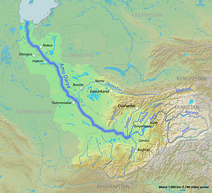 Muslim conquest of Khorasan - Oxus River