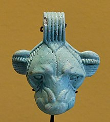 Achaemenid pendant with lioness head