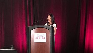 Amy Chua - Chua Speaking at Harvard in 2016