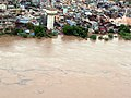 An aerial view taken from the IAF relief Helicopter of the flood-affected areas in Gujarat on July 3, 2005 (5).jpg
