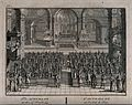 An auto-da-fé of the Spanish Inquisition held in a church. E Wellcome V0041640.jpg