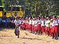An elementary school student performing a welcome dance, East Nusa Tenggara.jpg