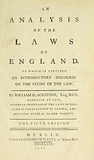 <i>An Analysis of the Laws of England</i>