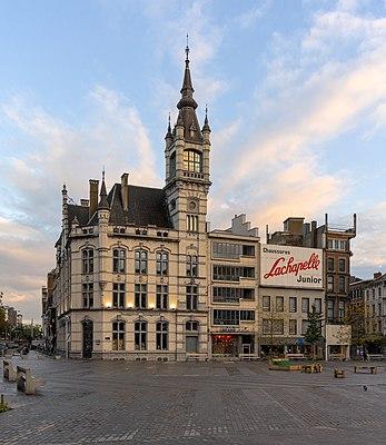 Ancien hôtel des Postes (Charleroi, Belgium)