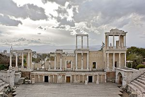 Plovdiv Roman theatre - Image: Ancient theatre plovdiv 3