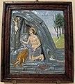 Andrea della robbia (bottega), s.girolamo nel deserto, 1510-20 ca., da s.piero in mercato 01.JPG