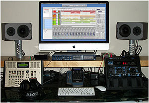 Andrew Pilling's 2011 Recording Equipment