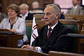 Andris Bērziņš - Valsts prezidenta inaugurācijas pasākumi Saeimā - 03.jpg