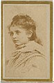 Anita, from the Actresses and Celebrities series (N60, Type 2) promoting Little Beauties Cigarettes for Allen & Ginter brand tobacco products MET DP839508.jpg