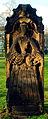 Anna Margareta Borcherding 1701–1716 die geschnürte Jungfrau Grabmal Neustädter Friedhof Hannover I.jpg