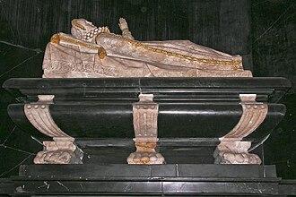 Anna Vasa of Sweden - Princess Anne's grave in Toruń