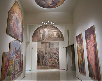 Annibale Carracci - Mural paintings from the Herrera Chapel - Google Art Project.jpg
