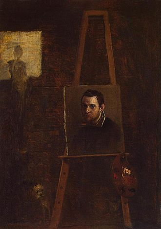 Annibale Carracci - Self-portrait