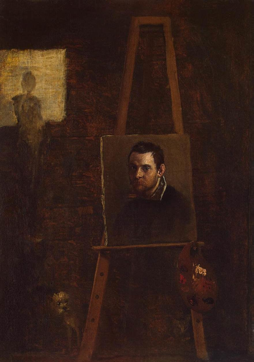 Annibale Carracci - Self-Portrait - WGA4448