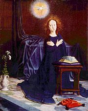 Annunciation of the Virgin, Gerard David 001.jpg
