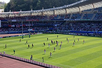 Anoeta Stadium - Rugby game at Anoeta