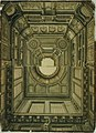 Anoniem, Dubbelontwerp voor een monumentaal plafond in Lodewijk XIV-stijl - Double ébauche pour un plafond monumental style Louis XIV, KBS-FRB.jpg
