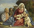 Anoniem - Maria met het kind, de kleine Johannes de Doper, Petrus en Antonius de Heremiet.jpg