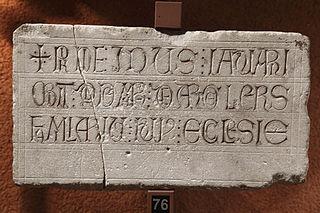 Épitaphe d'Aldemarus de Argelers