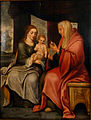 Anonymous (Flemish School) - Madonna and Child with Saint Anne.JPG