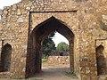 Another entrance view of Firoz sha kotla fort, New Delhi.jpg