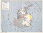 Antarctica exploration and claims, as of 1 February 1956. LOC 79692772.jpg