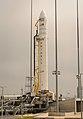 Antares Orb-2 at Wallops pad (201407110001HQ).jpg