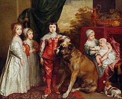 Anthony van Dyck: Five Eldest Children of Charles I
