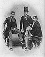 Antonio Luna, Eduardo de Lete and Marcelo H. del Pilar.jpg