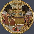 Apollonio di Giovanni, The Triumph of Love, 1453-55, (recto) London NG.jpg