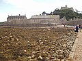 Approaching St Michael's Mount from the causeway - geograph.org.uk - 23340.jpg