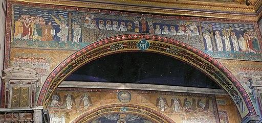 Apsis mosaic S Prassede Rome W6