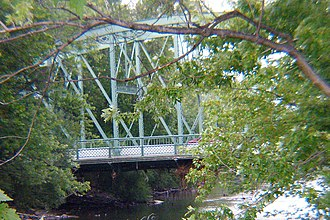 National Register of Historic Places listings in Passaic County, New Jersey - Image: Arch Street Bridge 20070829 jag 9889